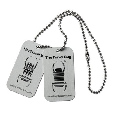 Unbekannt Geocaching Travel Bug®