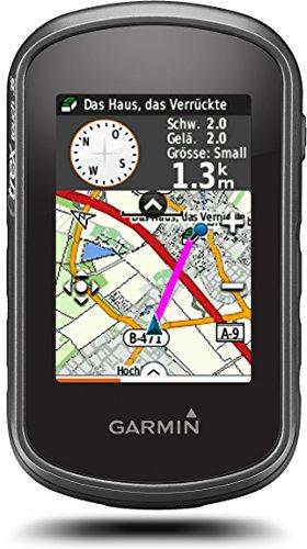 Garmin eTrex Touch 35 - GPS-Outdoor-Navigationsgerät mit Topo Active Europakarte, 2,6' Farbdisplay,...